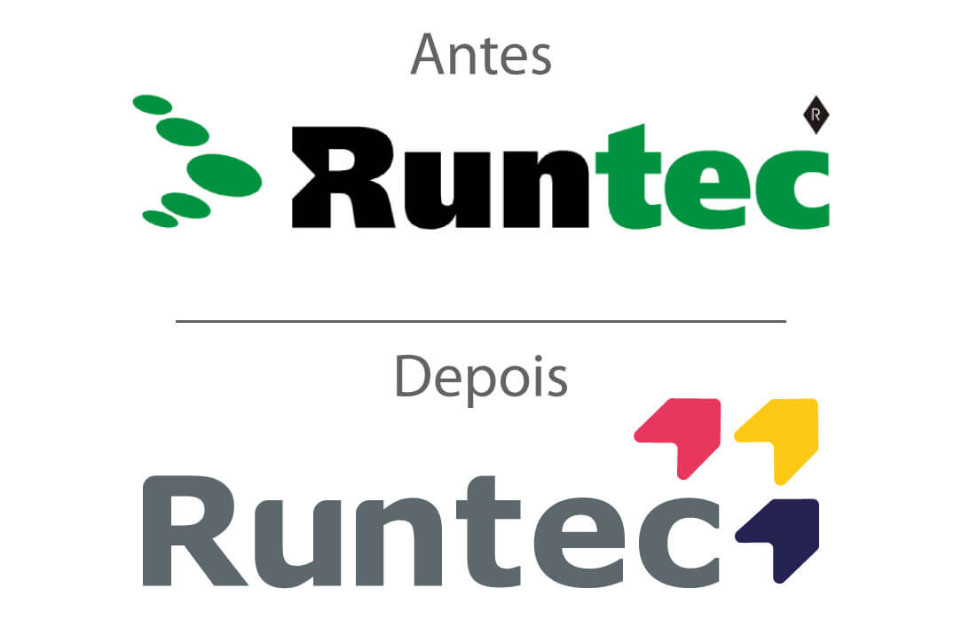 Rebranding logo Runtec